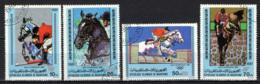 MAURITANIA - 1980 - OLIMPIADI DI MOSCA: GARE DI EQUITAZIONE - USATI - Mauritania (1960-...)