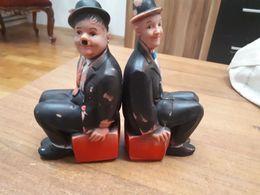 Old Rubber Toys - Stan & Ollie (Stanley Laurel & Olivier Hardy), RRR - Andere Verzamelingen