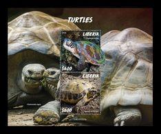 Liberia 2020 Mih. 7719/20 (Bl.835) Fauna. Turtles MNH ** - Liberia