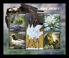 Liberia 2020 Mih. 7733/36 Fauna. Rare Birds I MNH ** - Liberia