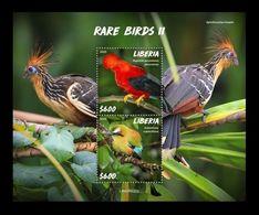 Liberia 2020 Mih. 7743/44 (Bl.839) Fauna. Rare Birds II MNH ** - Liberia