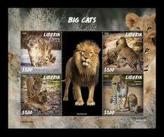 Liberia 2020 Mih. 7757/60 Fauna. Big Cats MNH ** - Liberia
