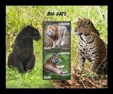 Liberia 2020 Mih. 7761/62 (Bl.842) Fauna. Big Cats MNH ** - Liberia