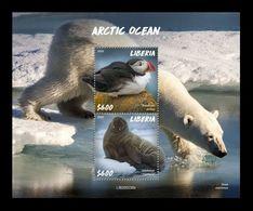 Liberia 2020 Mih. 7773/74 (Bl.844) Fauna Of Arctic Ocean MNH ** - Liberia