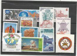 348/50 Et 8  Timbres Luxe Sans Ch   (boisorblan) - Wallis Y Futuna