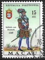 Macau Macao – 1966 Military Uniforms 15 Avos Used Stamp - Macao