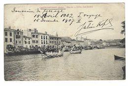 CLA344 - CASTELNAUDARY AUDE FETE DU 14 JUILLET LES JOUTES 1907 - Castelnaudary