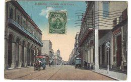CLA350 - HABANA CALZADA DE LA REINA REINA AVENUE 1950 CIRCA - Cuba