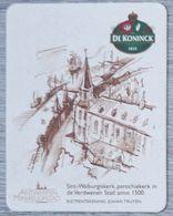Sous-bock DE KONINCK 1833 Sint-Walburgiskerk Antwerpen Miniatuurstad Johan Truyen Bierdeckel Bierviltje Coaster (N) - Portavasos