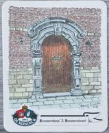 Sous-bock DE KONINCK Brouwershuis A. Brouwerstraat Anvers Antwerpen Bierdeckel Bierviltje Coaster (CX) - Portavasos