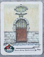 Sous-bock DE KONINCK Quiten Matsus Hoofdkerkstraat Anvers Antwerpen Bierdeckel Bierviltje Coaster (CX) - Portavasos