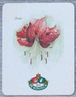 Sous-bock DE KONINCK Lelie (fleur) Bierdeckel Bierviltje Coaster (CX) - Portavasos