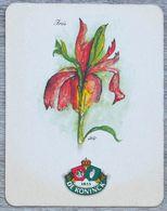 Sous-bock DE KONINCK Iris (fleur) Bierdeckel Bierviltje Coaster (N) - Portavasos