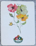Sous-bock DE KONINCK Viool (fleur) Bierdeckel Bierviltje Coaster (CX) - Portavasos