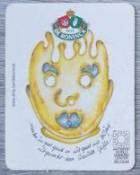 Sous-bock DE KONINCK Antwerp World Diamond Center (diamant) Bierdeckel Bierviltje Coaster (N) - Portavasos