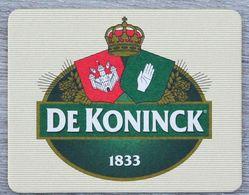 Sous-bock DE KONINCK 1833 Bierdeckel Bierviltje Coaster (N) - Portavasos