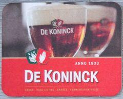 Sous-bock DE KONINCK Bierdeckel Bierviltje Coaster - Portavasos