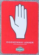 Sous-bock DE KONINCK Eigenzinnig Lekker (main) Bierdeckel Bierviltje Coaster (CX) - Portavasos