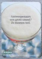 Sous-bock DE KONINCK Antwerpenaars Een Grote Smoel ? Ze Moeten Wel Bierdeckel Bierviltje Coaster (N) - Portavasos