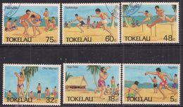 Tokelau 1987 QE2 Set Olympic Sports Used ( 929 ) - Tokelau