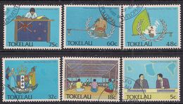 Tokelau 1988 QE2 Set Political Developement Used ( A403 ) - Tokelau