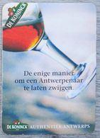 Sous-bock DE KONINCK De Enige Manier Om Een Antwerpenaar Te Laten Zwijgen Bierdeckel Bierviltje Coaster (CX) - Portavasos