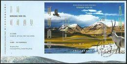 Hong Kong 2020 World Heritage 9 QINGHAI HOH XIL MS FDC - 1997-... Chinese Admnistrative Region