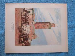 Maroc : Document En Couleur De 1930 « Marrakech ». - Historische Dokumente