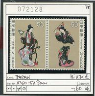 Japan - Japon - Nippon - Michel 1350-1351 Paar / Pair  - ** Mnh Neuf Postfris - - 1926-89 Emperor Hirohito (Showa Era)