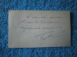 Réunion: Document Manuscrit Signé Par Hippolyte Foucque Adressé à Son Neveu Renéde Narbonne - Historische Dokumente