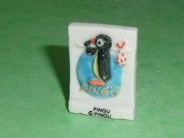 Fèves / Dessins Animés / Films / BD : Pingu , Pingouin , Plaque   T67 - Dessins Animés