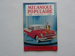 MAGAZINE MENSUEL - MECANIQUE POPULAIRE : La PONTIAC 1955 - Auto