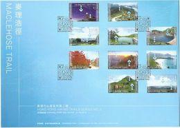 """Hong Kong 2019 """"Hong Kong Hiking Trails Series No.2: MacLehose Trail"""" FDC - 1997-... Chinese Admnistrative Region"""