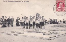 620 Heyst Amusement Des Enfants Sur La Plage - Heist