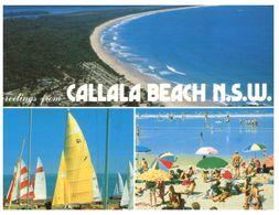 (B 21) Australia - NSW - Callala Beach (with Stamp) - Australia