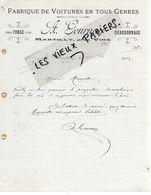 14 - Calvados - MARTILLY - Facture GOURNAY - Forge, Charronnage, Fabrique De Voitures  - 1912 - REF 158A - Francia
