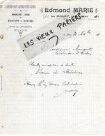 14 - Calvados - LE MOLAY - Facture MARIE - Quincaillerie, Cycles, électricité, éclairage  - 1911 - REF 158A - Francia