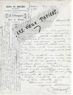 15 - Cantal - MAURIAC - Facture CHAPPE - Bains Et Douches, Appareil Hydrothérapique - 1908 - REF 158A - Francia