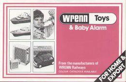Cataogue WRENN TOYS & BABY ALARM 1970s - Libros Y Revistas