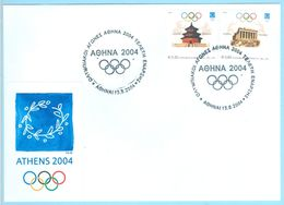 Olympic Games Athens 2004, Opening Ceremony, FDC, Greece Grèce Griechenland Grecia - Verano 2004: Atenas