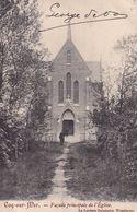 620 Coq Sur Mer Facade Principale De L Eglise - De Haan