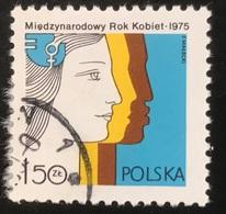 Polska - Poland - Polen - P1/4 - (°)used - 1975 - Internationaal Jaar Van De Vrouw -  Michel Nr. 2397 - 1944-.... Republik