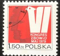 Polska - Poland - Polen - P1/4 - (°)used - 1974 - Vrijheid En Democratie -  Michel Nr. 2626 - 1944-.... Republik