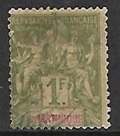 MARTINIQUE N°43 - Gebraucht