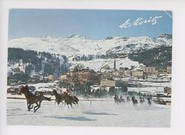 Saint Moritz Mit Corviglia - Und Piz Nair (courses Chevaux Dans La Neige) - Hípica