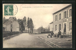 CPA Cirey, La Frontiere Et La Douane Allemande - Unclassified