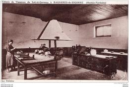 BAGNERES DE BIGORRE COLONIE DE VACANCES DU LOT ET GARONNE LA CUISINE TBE - Bagneres De Bigorre