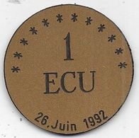 1 Ecu De MARTIGNAS ( 33 ) Collège Aliénor D' Aquitaine - Euros Des Villes