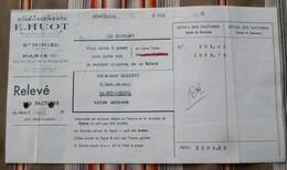 55 SAINT MIHIEL 75 PARIS 11   E. HUOT Fonderie De Cuivre - Francia