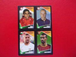 PANINI FOOT Euro 2004 Portugal N°12 104 156 167 Bruno Berner Kasper Bogelund Alexander Alexandrov Costinha - Panini
